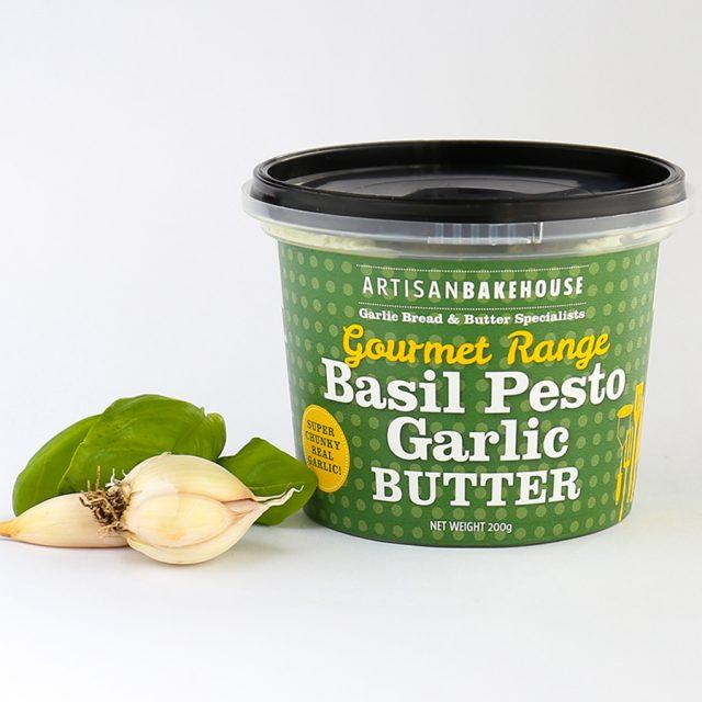 Basil Pesto Garlic Butter