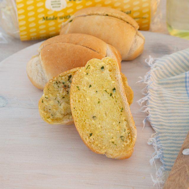 4 Pack Garlic Butter Rolls