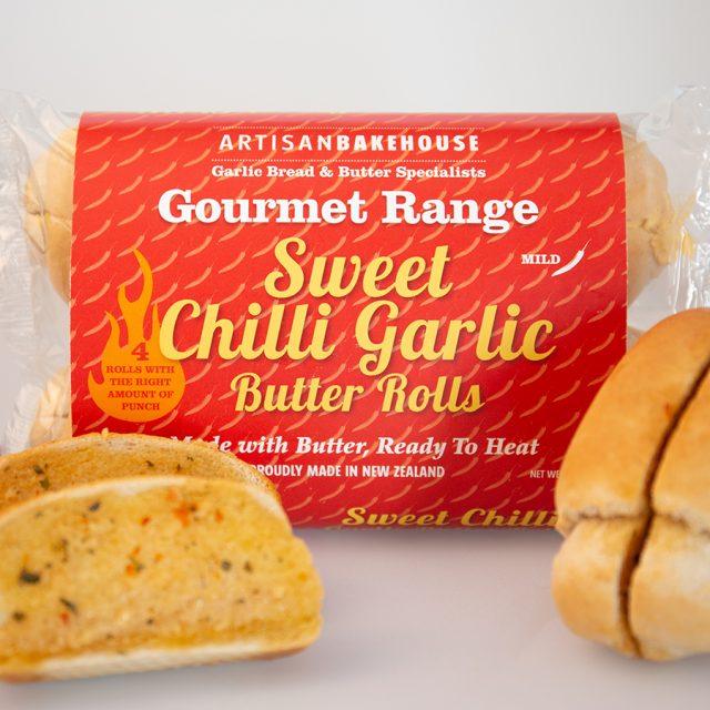 4 Pack Sweet Chilli Butter Rolls